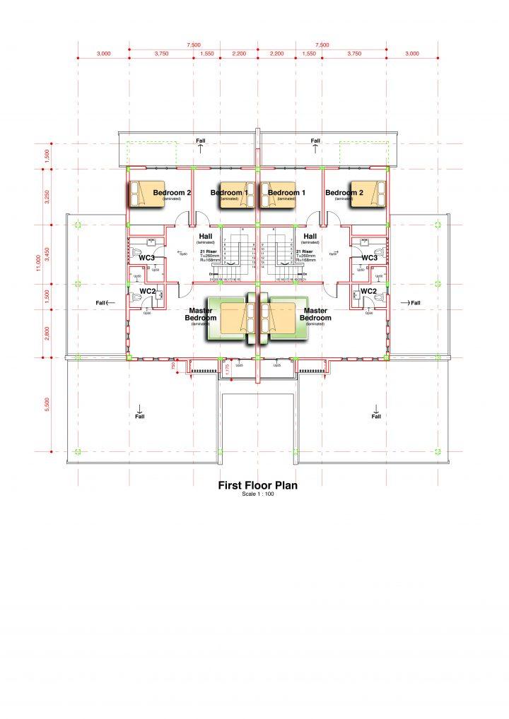 Semi-D 1st Floor